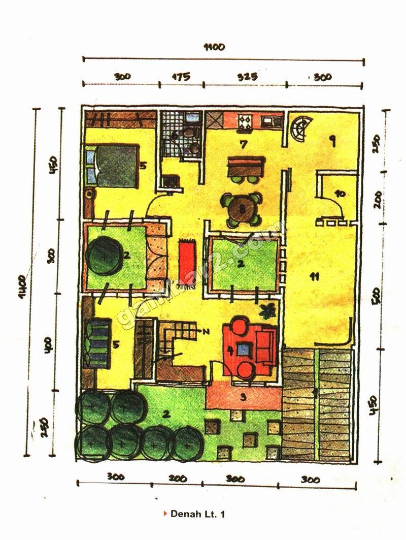 Rumah Tipe Minimalis 1 Lantai