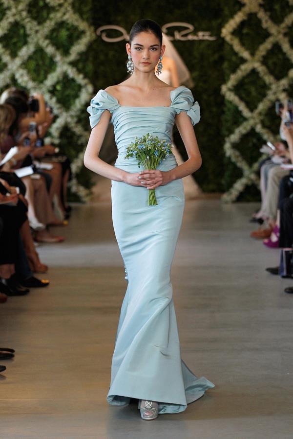 Trendsfor 2014: Oscar de la Renta Bridal Spring 2013 Wedding Dresses