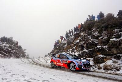 Dani Sordo Hyundai i20 WRC 8
