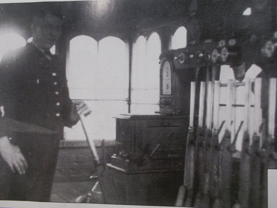 Signalman at Knowle Junction