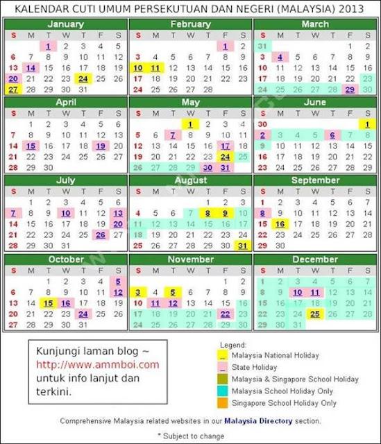 kalendar-cuti-umum-persekutuan-dan-negeri-20131