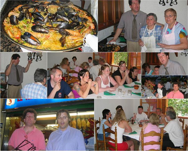 Vara Folkhögskola i Västergötland Studiebesök i Barcelona Lunch Paella 2005