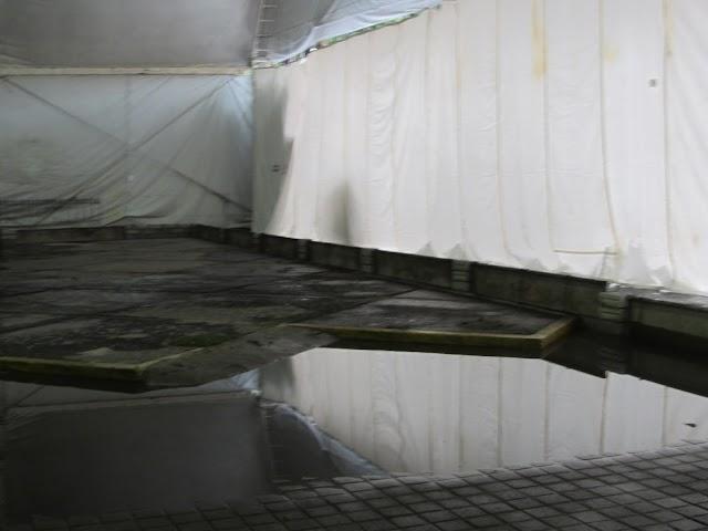 Sube 15 centímetros el agua en el zócalo de Cholula
