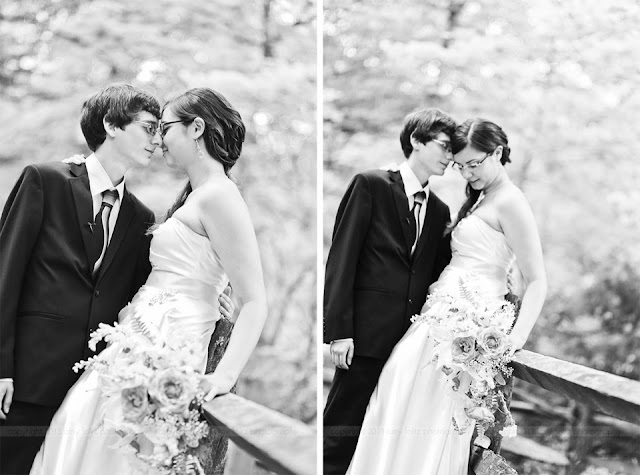 black and white photos of bride and groom