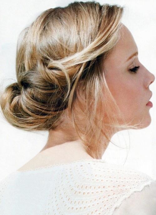 2013 bayan topuz saç modelleri