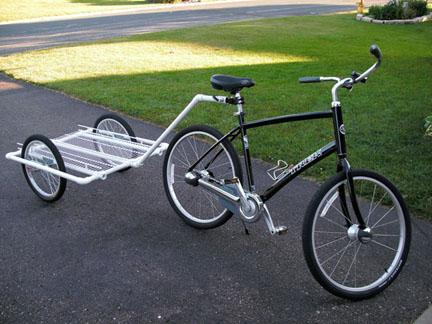 Gerobak-kereta PVC