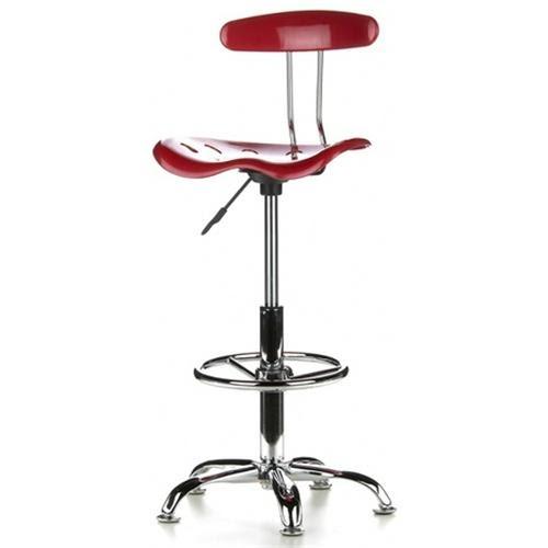 Silla de cocina taburete con ruedas y respaldo taburetes de bar - Sillas taburetes para bar ...