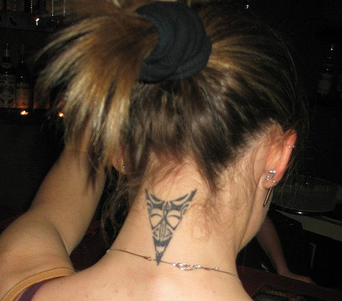 Neck Tattoo For Men and Women neck tattoos for women