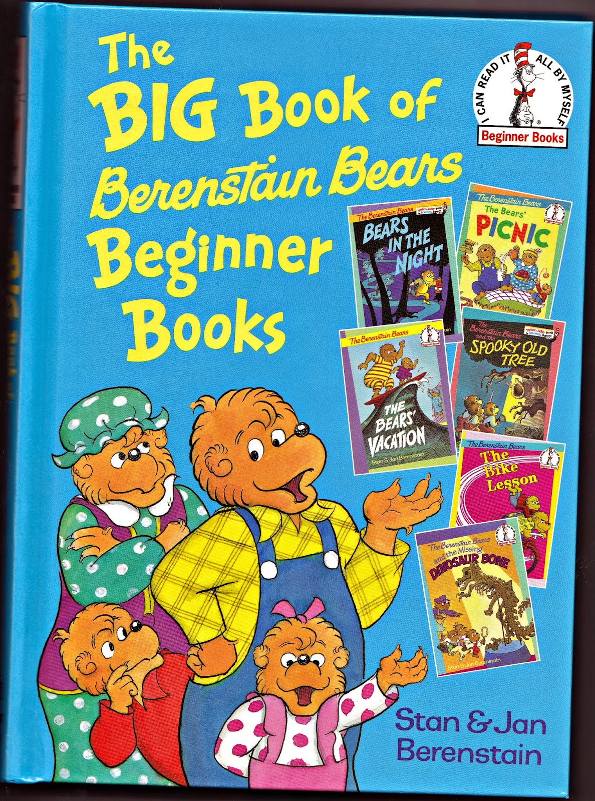 Berenstain Bears Old Book Cover : Vintage books for the very young big book of