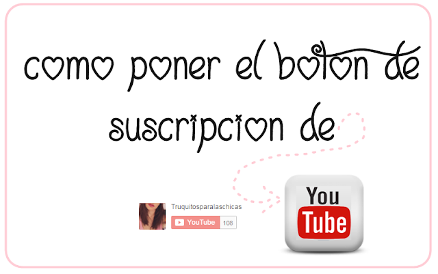 boton suscripcion de youtube en blogger