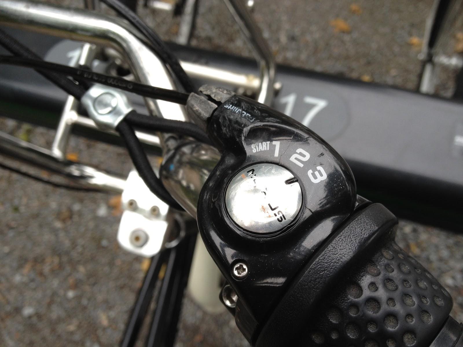 3 speed internal hub grip shift