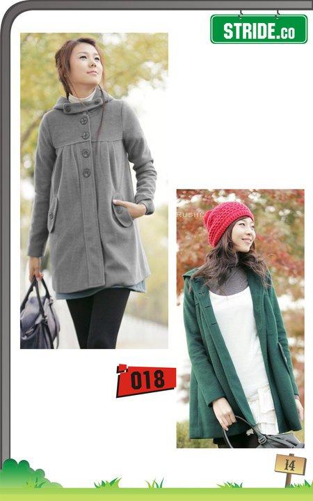 jaket ala korea terbaru untuk wanita yang sedang tren di tahun 2012