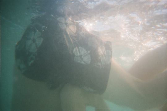 Underwater Photograph with Reusable Lomo Camera