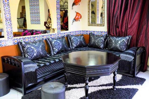 salon marocain , salon maghribi , salon marocain traditionnel , salon marocain moderne , salon marocain beldi