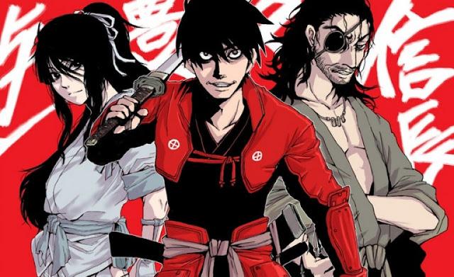 Anime 'Drifters' Tayangkan PV Perdana Dan Perkenalkan Para Staff Anime