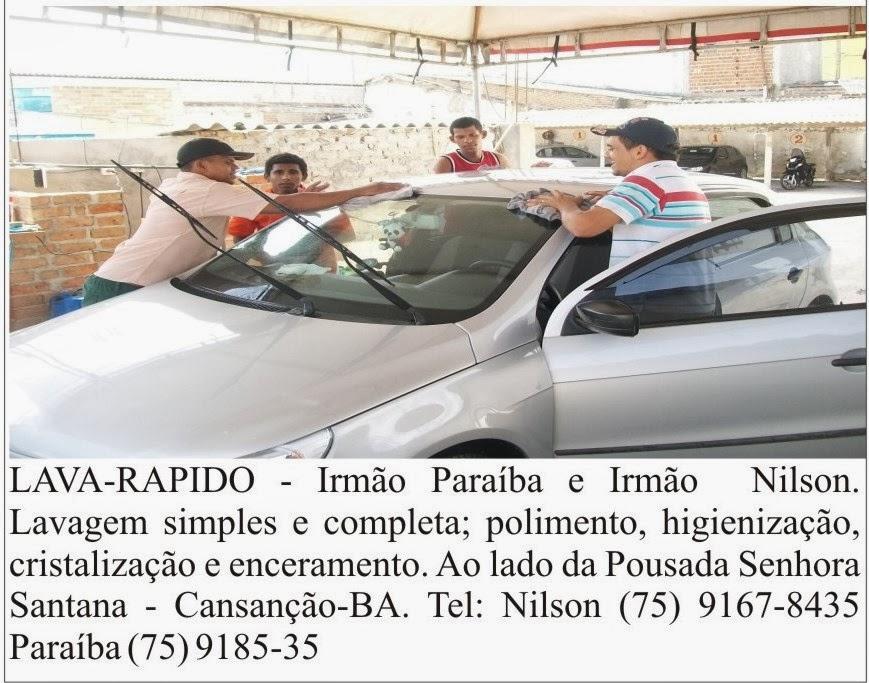 Lava-Rápido Irmão Paraíba e Irmão Nilson