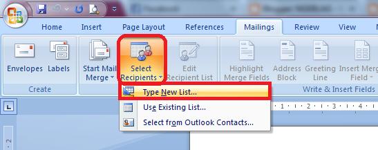 Cara menggunakan Mail Merge pada Microsoft Word ~ NGEBLAG