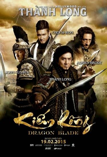 Dragon Blade 2015 poster