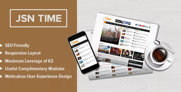 JSN Time Pro v1.1.0 – Crucial UX News Template for Joomla