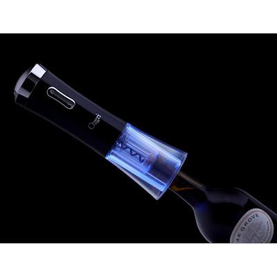 Ozeri Nouveaux, Electric Wine Opener, Foil Cutter
