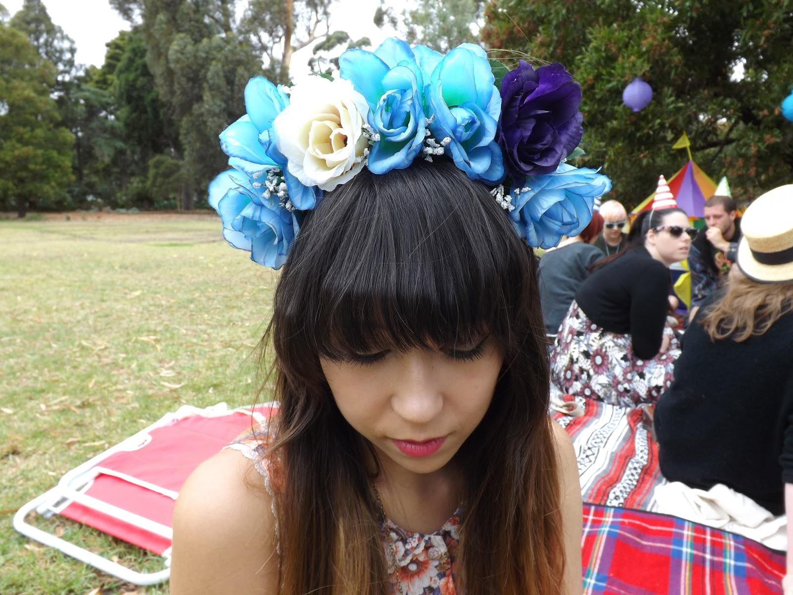 Diy flower crowns taken by surprise diy flower crowns izmirmasajfo
