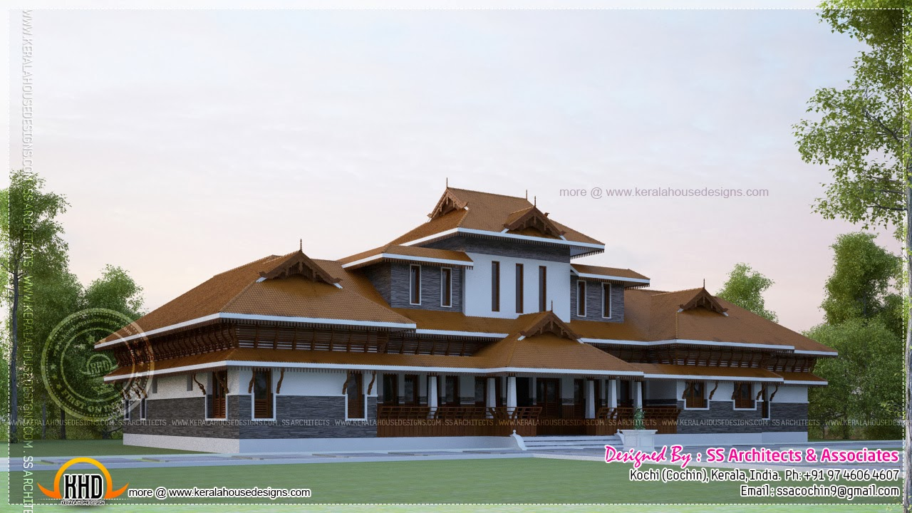 Traditional kerala houses joy studio design gallery for Kerala traditional home plans with photos