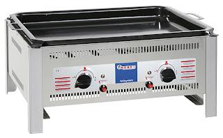 Gratar pe Gaz, Produs Profesional Horeca, Pret, Model 1020, Sistem Grill, Gratar de masa