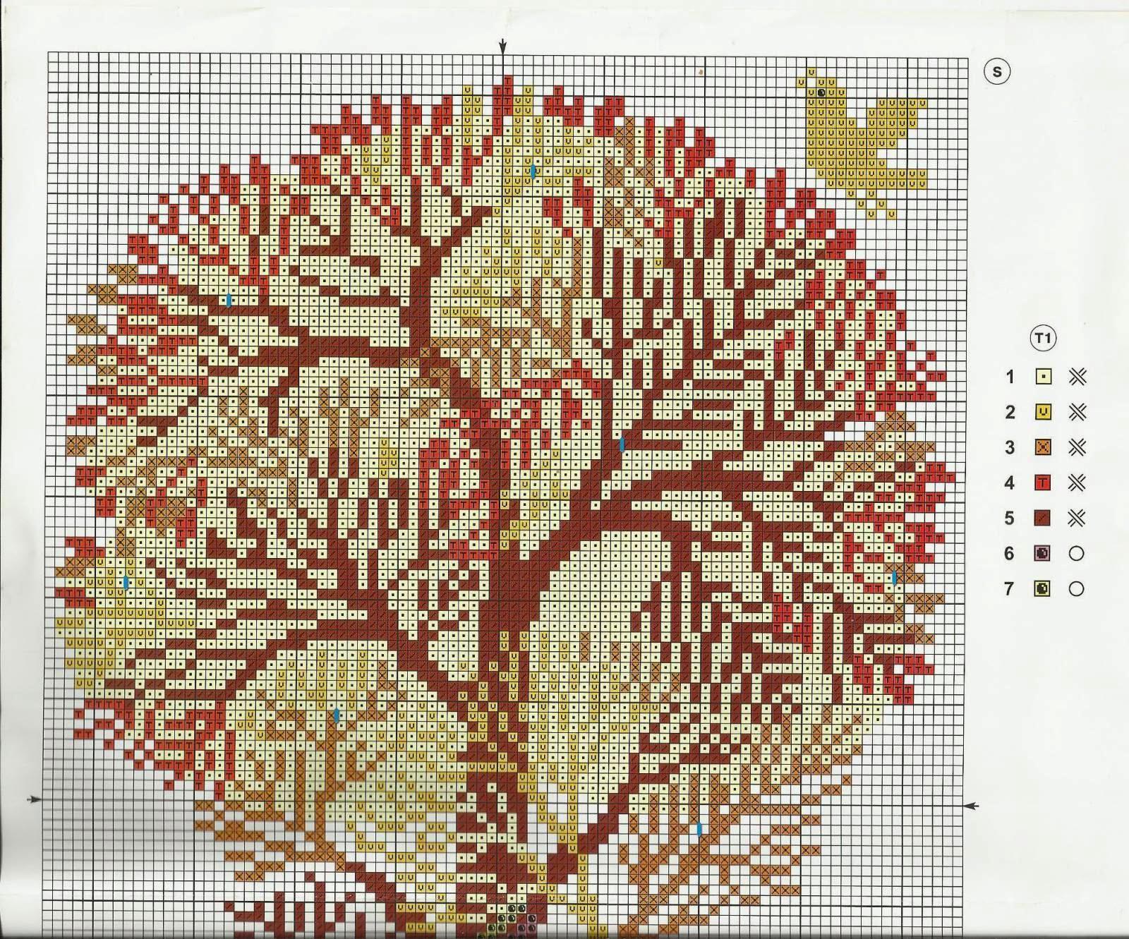 Вышивка дерево жизни схема 82