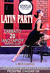 LATIN PARTY 20/1