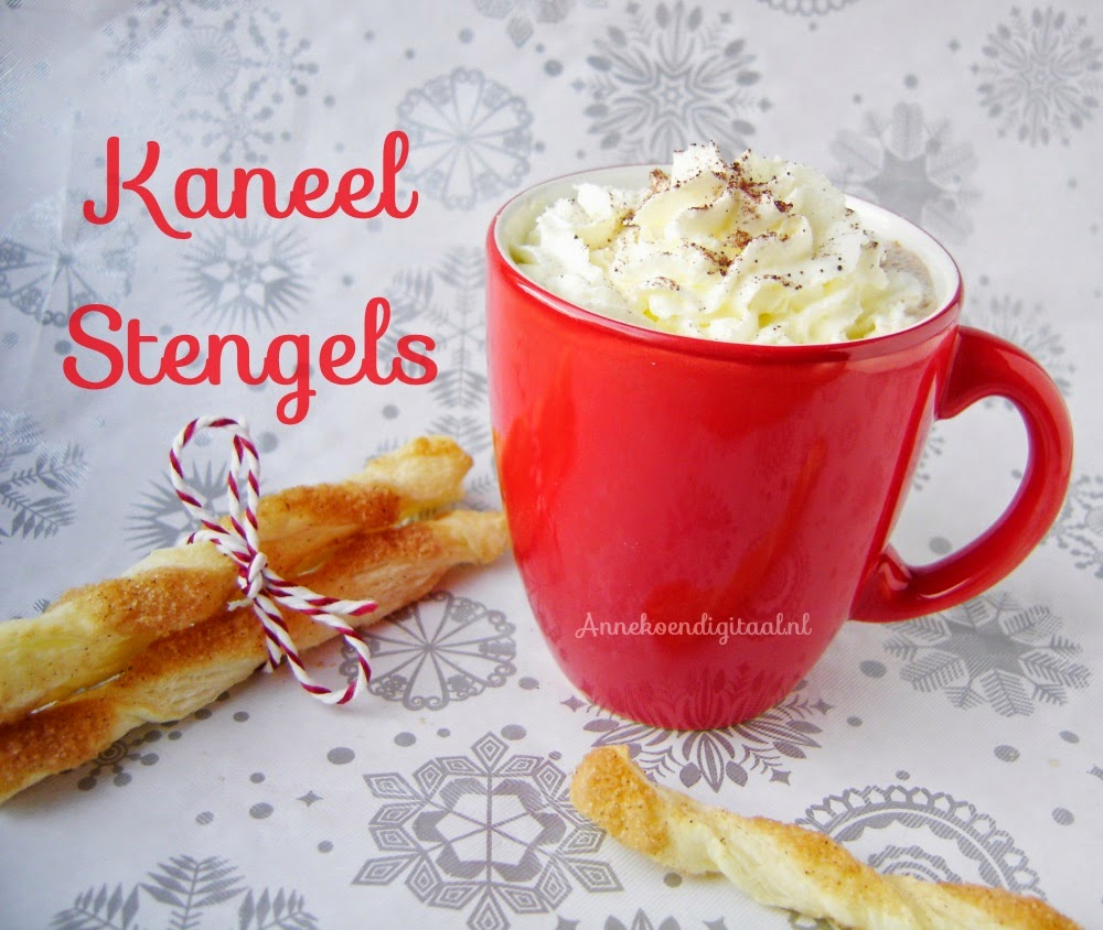 Recept Kaneel stengels, recept voor kaneel stengels, recept bladerdeeg, recept, Annekoendigitaal