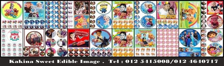 Kakina Sweet Edible Image Penang