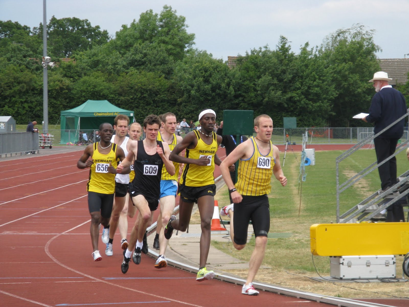 Colchester & Tendring Athletics Club: Essex Track & Field Champs 2011 ...
