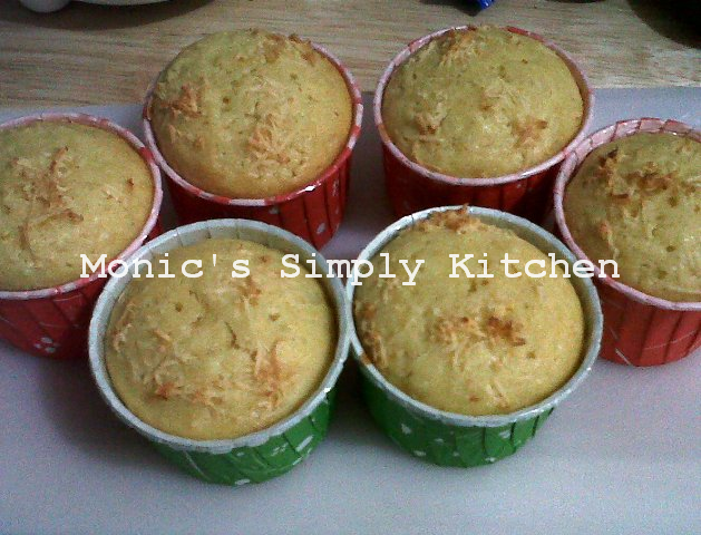 Muffin Keju Lemon Yang Yummy