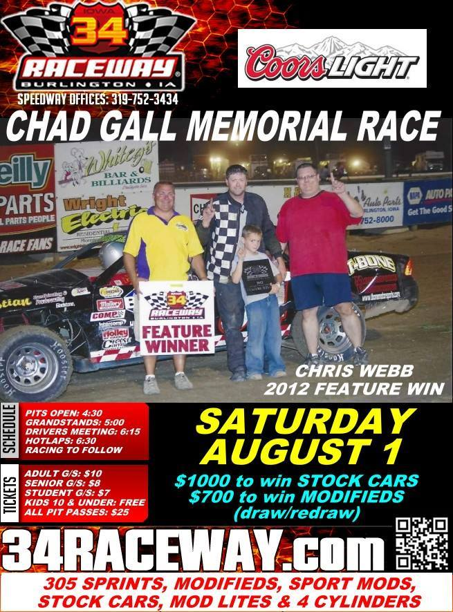Chad Gall Memorial
