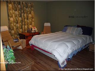 master bedroom as seen from doorway