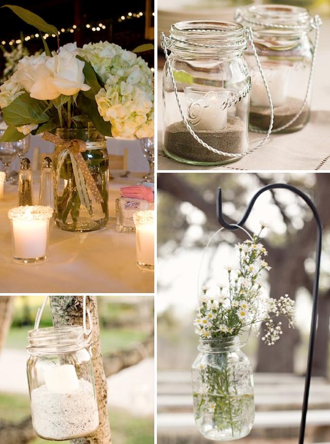 Wedding Beach Ideas Decoration: Ilgai Ir Laimingai: Stiklainiai Stebukladariai