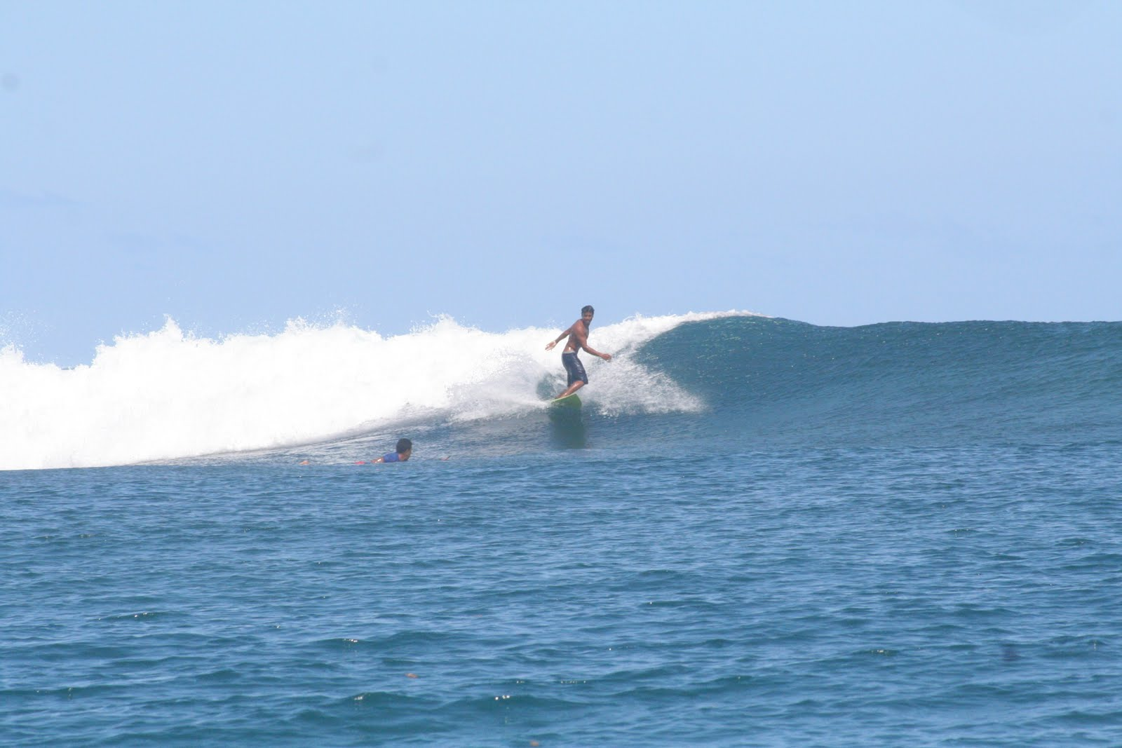rencontre avec surfeur