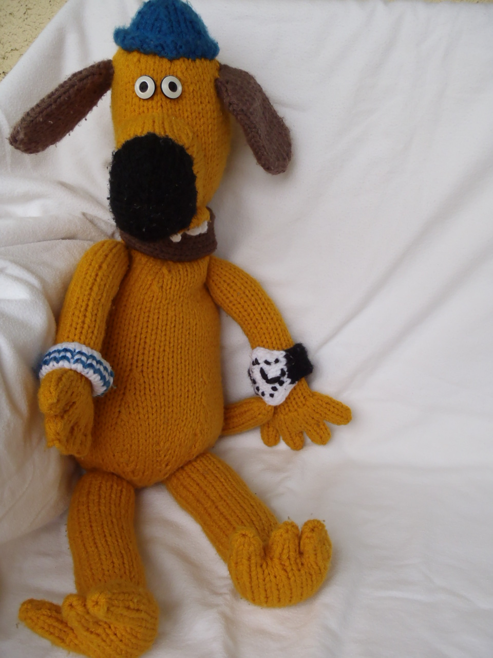 Stana\'s Critters Etc.: Knitting Pattern for Bitzer, the dog