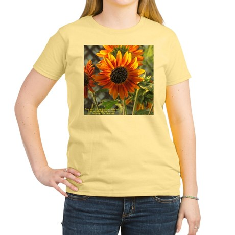 My Gorgeous Sunflower on a T-Shirt