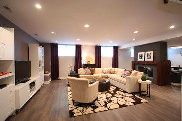 basement window solutions contrasting drapes