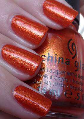 Riveting, China Glaze, The Hunger Games, Swatch