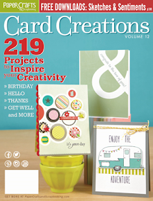 Card Creations volume 12 March 2014