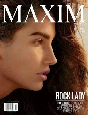 Rock Lady Revista Maxim Mexico Mayo 2015