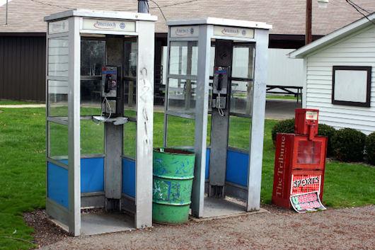 Foto di cabine del telefono su vanillasnotes
