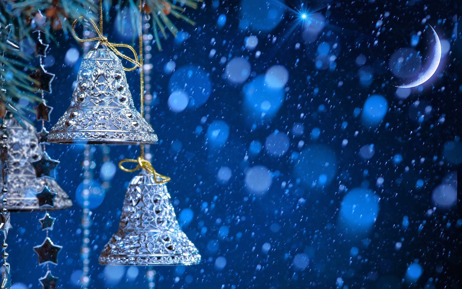 Christmas-jingle-bells-silver-with-snow-fall-blue-background-wallpaper-hd-for-desktop-pc-mac-laptop.jpg
