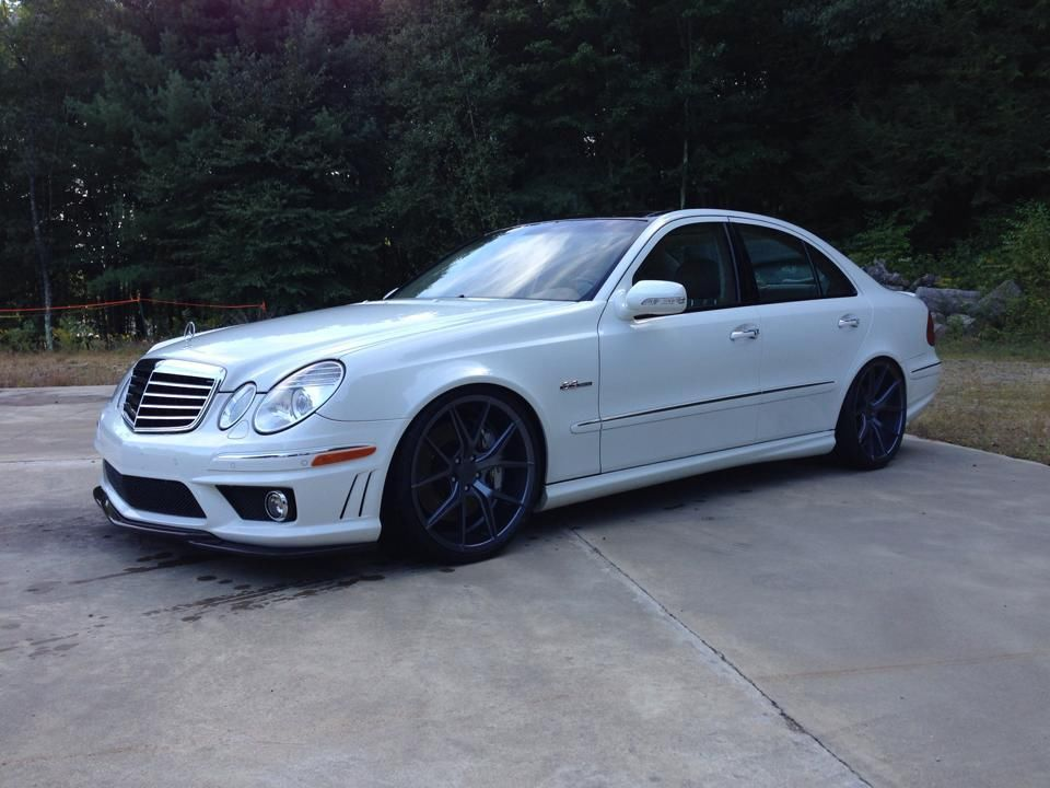 mercedes benz w211 e63 amg on 20 verde axis wheels benztuning. Black Bedroom Furniture Sets. Home Design Ideas