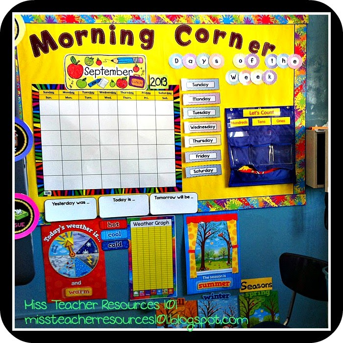 Classroom Organization Ideas For Preschool ~ Classroom organization decor miss teacher