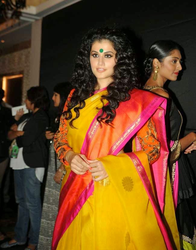 Tapsee Pannu at LFW Winter/Festive 2014