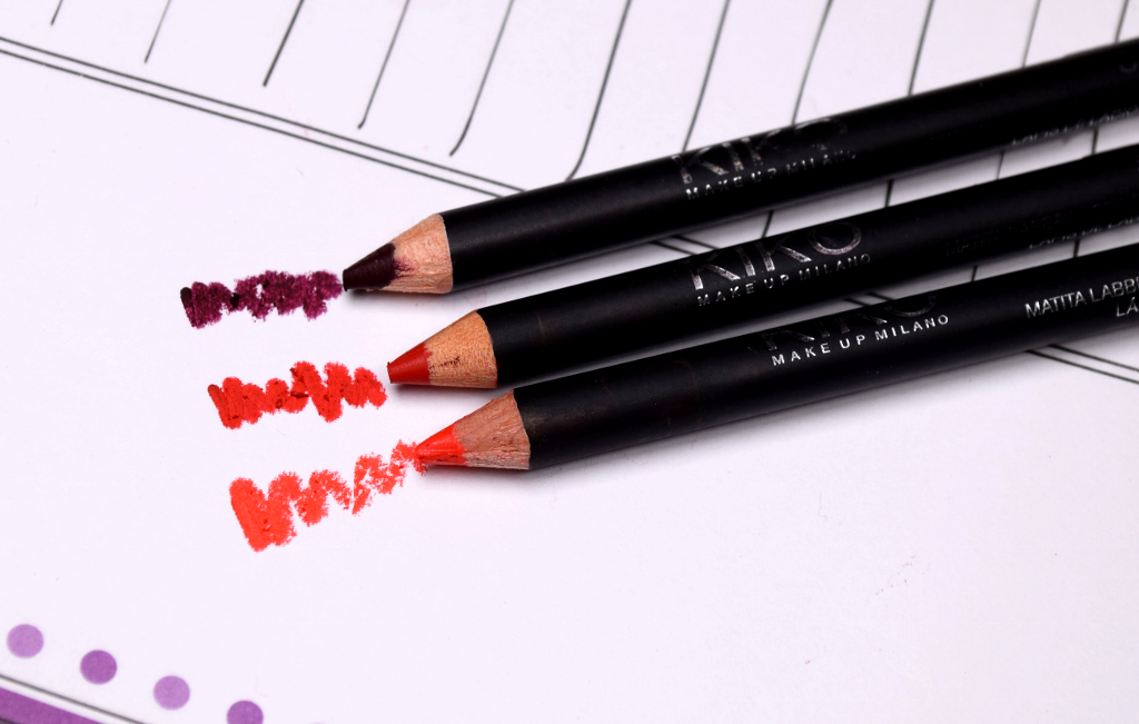 Kiko Smart Lip Pencils Review