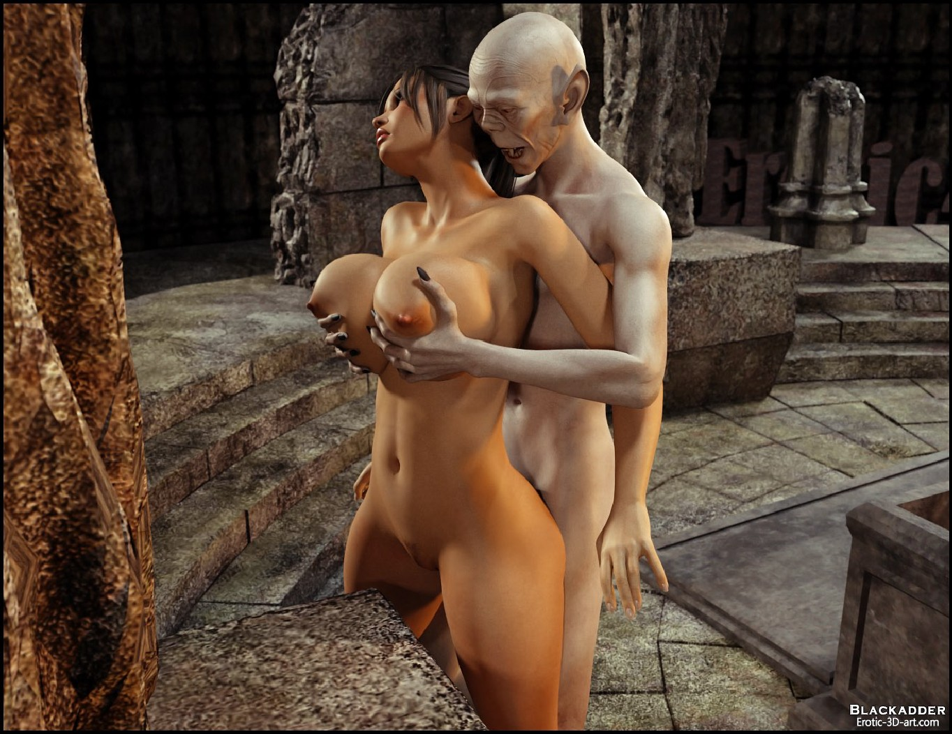 Lara croft sex with undead naked photo